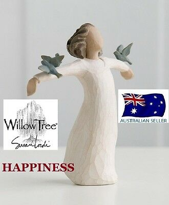 HAPPINESS Demdaco Willow Tree Figurine By Susan Lordi BRAND NEW IN BOX