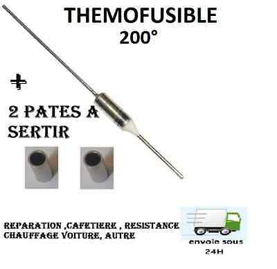 Fusible Thermique 200°c  Protection 200° Thermofusible auto , Electroménage ,etc