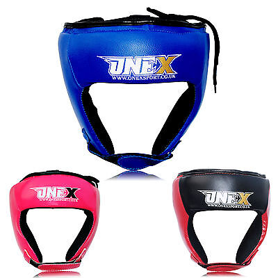 Helmet Head Guard Boxing Training Kick Martial Arts Sparring Gear Face Protector