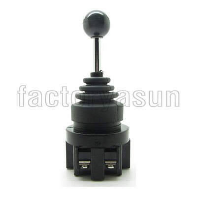 30mm Latching 2 Positions Joy Stick Wobble Switch Two Directions Monolever DPST