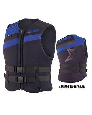 Gilet néoprène Jobe Progress Neo Vest Men Blue - 244915015 - CE ISO -