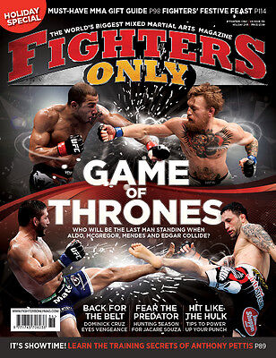 Fighters Only Magazine Issue 136 (Holiday 2015 Issue)
