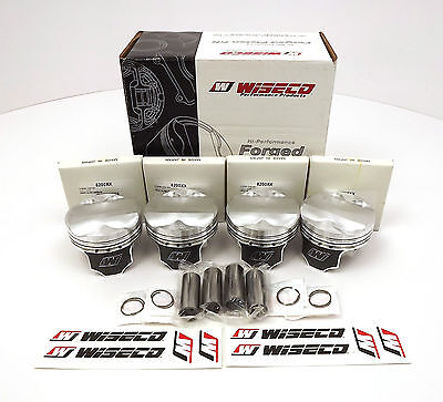 Wiseco Forged Piston Kit For 1.8L 2ZZ Engines WK569M82