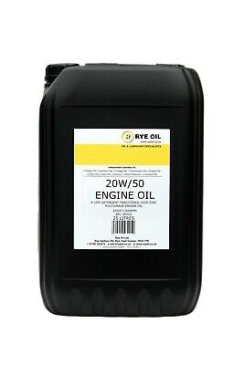 High Zinc 20w/50 Classic Vintage Engine Oil 25 Litre 25L (Not 20L)