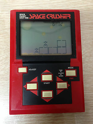 RARE 1980S Vintage Retro EPOCH POCKET DIGIT SPACE CRUSHER LSI LCD Japan GAME Toy