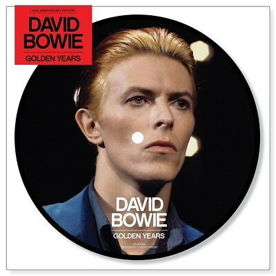 """DAVID BOWIE - golden years 40th Anniversary 7"""" LIMITED picture disc SEALED"""