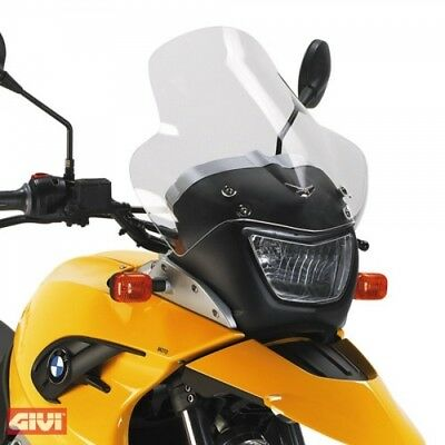 GIVI d331stg MOTORCYCLE BMW F 650 GS built 04-07 Windshield Windshield NEW