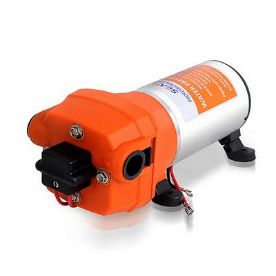 Stocking Seaflo High Pressure Water Pump 12 V DC 40 PSI 4.5 GPM. Fittings