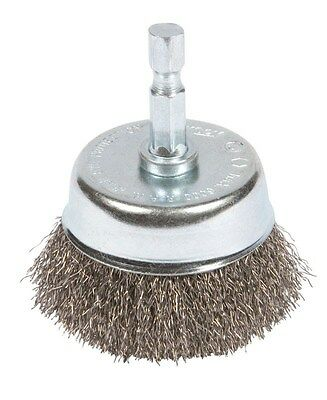"Forney Cup Brush 2 "" Crimp, Mounted Coarse"
