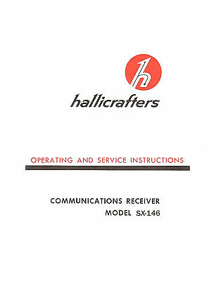 Hallicrafters SX-146 Operating & Service Manual
