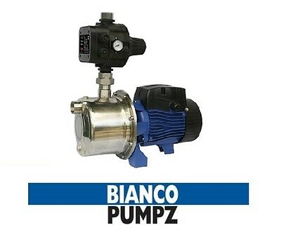 BIANCO BIA-INOX90S2MPCX Stainless steel Jet Pump with Electronic Controller