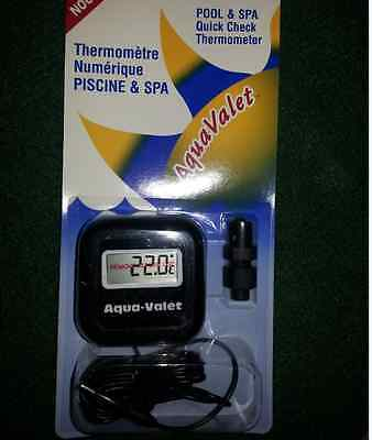 Thermometer Swimming Pool Spa Hot Tub Jacuzzy Sauna / Thermomètre Piscine etc.
