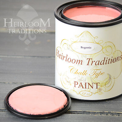 Chalk Type Paint Heirloom Traditions Paint Begonia Pink Furniture Paint DIY