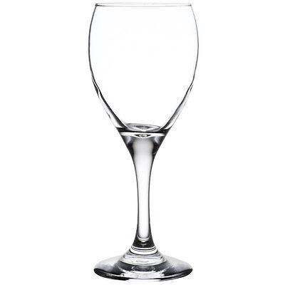 Libbey Teardrop 12xWine glass 252ml LB3965 with plimsoll line at 150ml