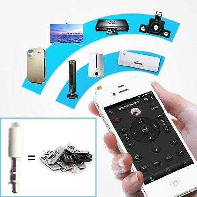 Universal IR Infrared Remote Control TV STB DVD For Samsung LG iPhone Mobiles
