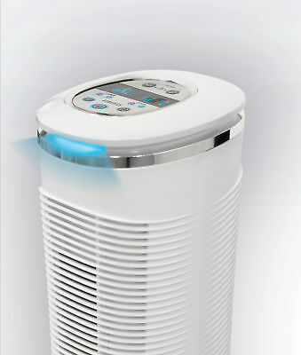 HoMedics HEPA Tower Air Purifier, 85m AR-29A-GB