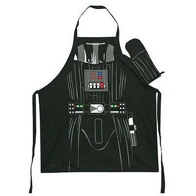 Star Wars - Darth Vader Apron And Oven Mitt Set In Jar New & Official Lucasfilm