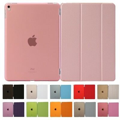 "SLIM SMART COVER CASE MAGNETIC FLIP FOR APPLE iPAD 2/3/4 AIR MINI 9.7"" 2018 LOT"