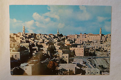 Bethlehem - Blessed are the poor in spirit - Vintage - Postcard.
