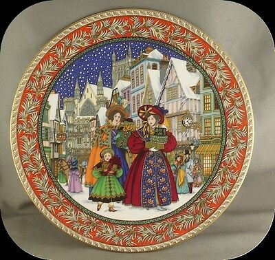 Sue Scullard Christmas Eve Royal Worcester Collector Plate