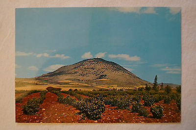 Mount Tabor - Our Father who art in heaven - Vintage - Postcard.