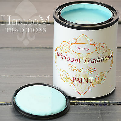 Chalk Type Paint Heirloom Traditions Paint Synergy Aqua Furniture Paint DIY