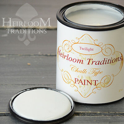 Chalk Type Paint Heirloom Traditions Paint Twilight Grey Furniture Paint DIY