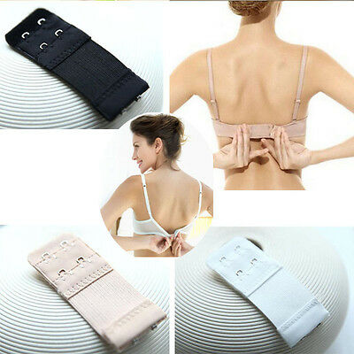 3 PCS Back Bra Extenders Strap Extension 2/3 Hooks or Ladies Bra Extension Strap