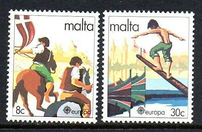 Malta Mnh 1981 Sg659-660 Europa Folklore Set Of 2
