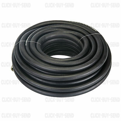 Air Compressor 8 Mm Hose Line Rubber Reinforced 15 Metre 49 Ft Guaranteed New