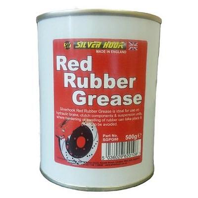 Silverhook SGPG80 Red Rubber Grease - For Brakes And Clutches/Calipers Etc .....