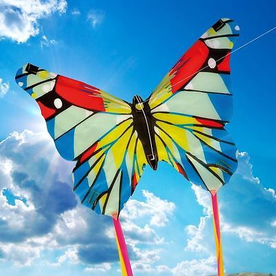 NEW MINI BUTTERFLY KITE - Children's Easy to Fly Single Line Kite - By Brookite