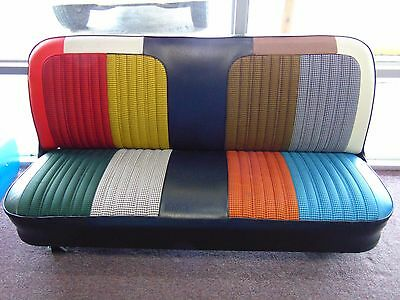 1969 70 71 72 Chevy GMC Truck Pickup Houndstooth Cheyenne Bench Seat Cover