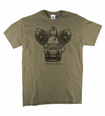 Moto Guzzi classic motorcycle T-shirts Italian Bike Putty Gildan tee shirt