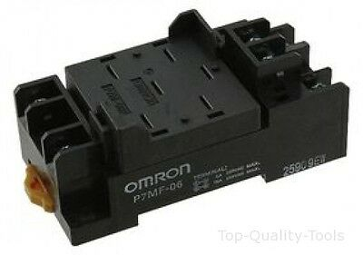SOCKET, RELAY, FOR MKS-X Part # OMRON INDUSTRIAL AUTOMATION P7MF-06