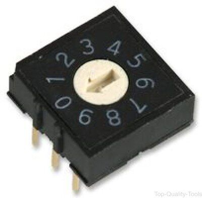 ROTARY DIP SWITCH - Part Number MCRH2AF-10R