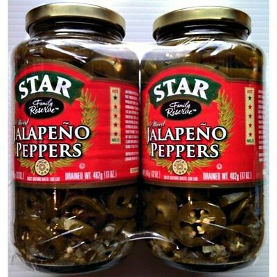 Star Jalapeno Peppers 2 x 946g