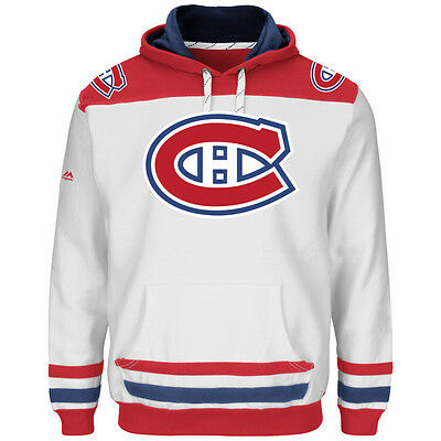 NHL Kaputzenpullover Hoody Hooded Jersey Sweater MONTREAL CANADIENS Double Minor