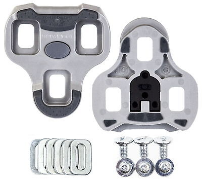 2017 New in Box Genuine LOOK Grip Cleats Grey 4.5 Degree Float for Keo pedals