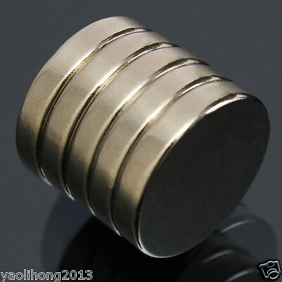 Super Strong Round Cylinder Magnets 15 x 3mm N35 Disc Rare Earth Neodymium 10Pcs