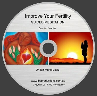 Guided Meditation CD to Improve Your Fertility- Jan-Marie Soothing Music & Voice