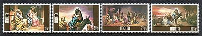 Malta Mnh 1979 Sg634-637 Christmas Set Of 4