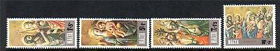 Malta Mnh 1976 Sg568-571 Christmas Set Of 4