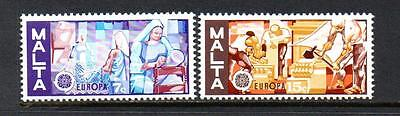 Malta Mnh 1976 Sg562-563 Europa Set Of 2