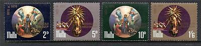 Malta Mnh 1971 Sg452-455 Proclamation/50Th Anv Lady Of Victories Set Of 4