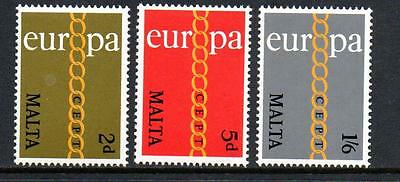 Malta Mnh 1971 Sg449-451 Europa Set Of 3