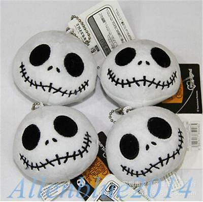 8cm The Nightmare Before Christmas Jack Skellington Mini Plush Dolls Xmas Gifts