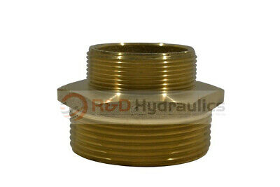 """Fire Hydrant Adapter 2"""" Npt(M) X 2-1/2"""" Nst(M)"""