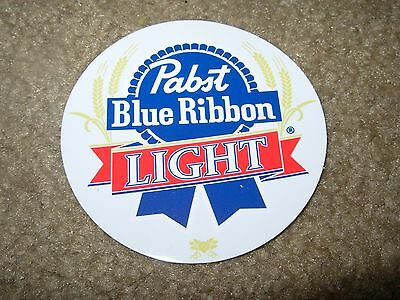 PABST BLUE RIBBON LIGHT PBR LOGO STICKER decal craft beer brewery brewing