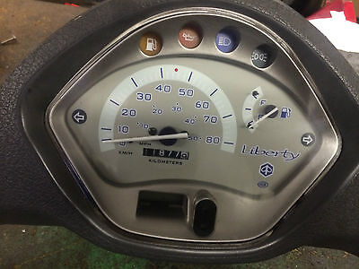 Piaggio Liberty 50 Clocksetwith Surround And Switches Nice Condition